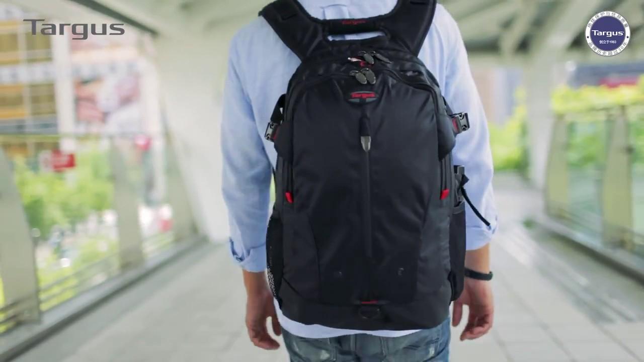 "30d0bd08b Mochila Targus Terra Backpack para Notebook 16"" – TSB226US - YouTube"