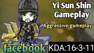 When marksman is heavily farmed | facebook Yi Sun Shin Gameplay