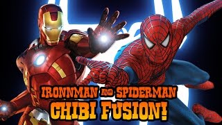 How to Draw Ironman + Spiderman Fusion | ART CHALLENGE