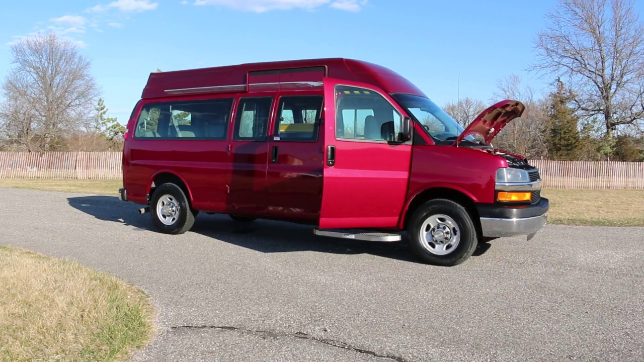 2007 chevrolet express 3500 handicapped mobility ramp van for sale