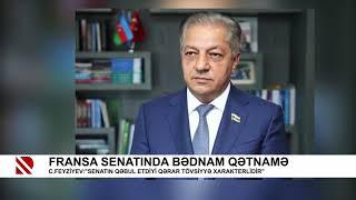 """Cavanşir Feyziyev  """"Senatın qəbul etdiyi qərar tövsiyyə xarakterlidir"""""""