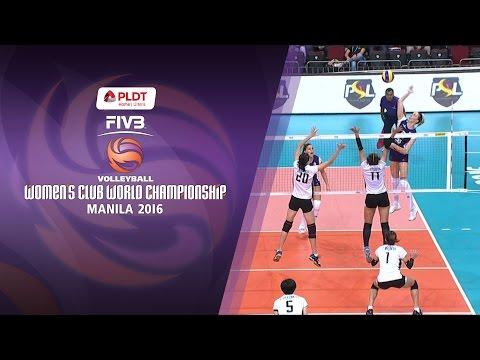 Volero Zurich vs. Bangkok Glass - Full Game | FIVB Women's Club World Championship 2016