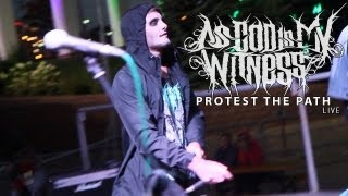 As God Is My Witness - Preys And Martyrs + Protest The Path (Live)