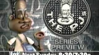 """1998 FOX """"The PJs"""" commercials"""