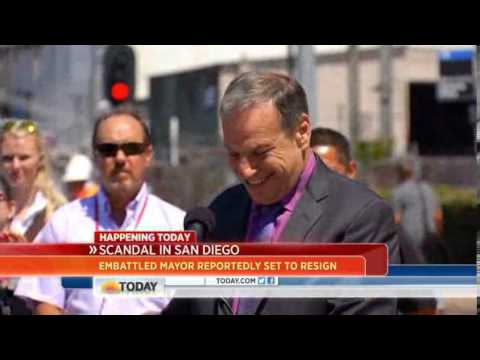Legal analyst  San Diego mayor 'has leverage'