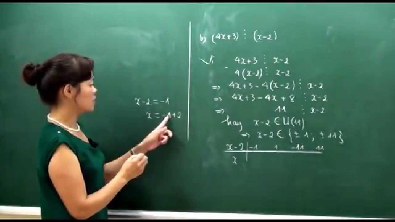 Toán lớp 6 – Bội và ước của một số nguyên – Cô Bùi Thanh Bình [Hocmai.vn]