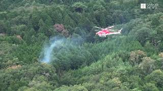 奈良・山添村に小型機墜落