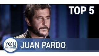 Top 5 Juan Pardo Youtube