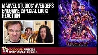 Marvel Studios' Avengers Endgame (Special Look) Trailer -The Popcorn Junkies Family Movie Reaction