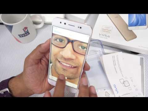 Hindi - Vivo V5 Plus Smartphone Unboxing & Features - PhoneRadar
