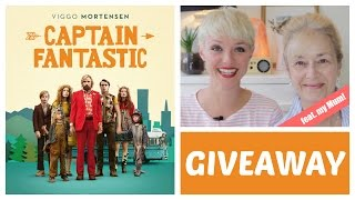 CAPTAIN FANTASTIC MOVIE - Giveaway! (feat. MY MUM!)  | Kate Arnell