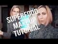 NATURAL MAKEUP TUTORIAL | Superfood Makeup (funny)