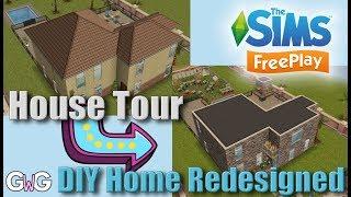 Modern Sims Freeplay House Blueprints