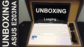 Asus VivoBook E12 E203NA-FD026T 11 6-Inch HD Laptop Unboxing