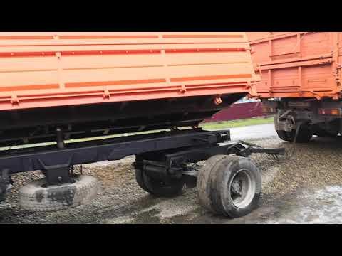 Прицеп нефаз переделаный кузов и крепление подушек и опорных брусов.