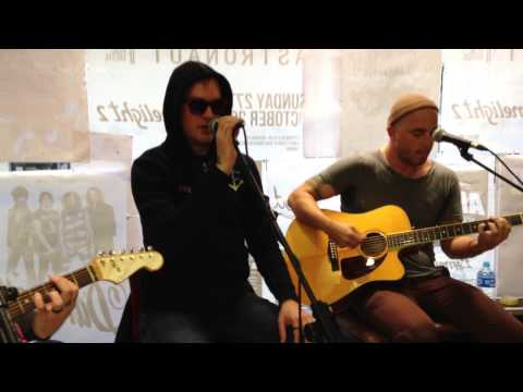 Alkaline Trio Live Acoustic @ Head Records Belfast - 27/8/13