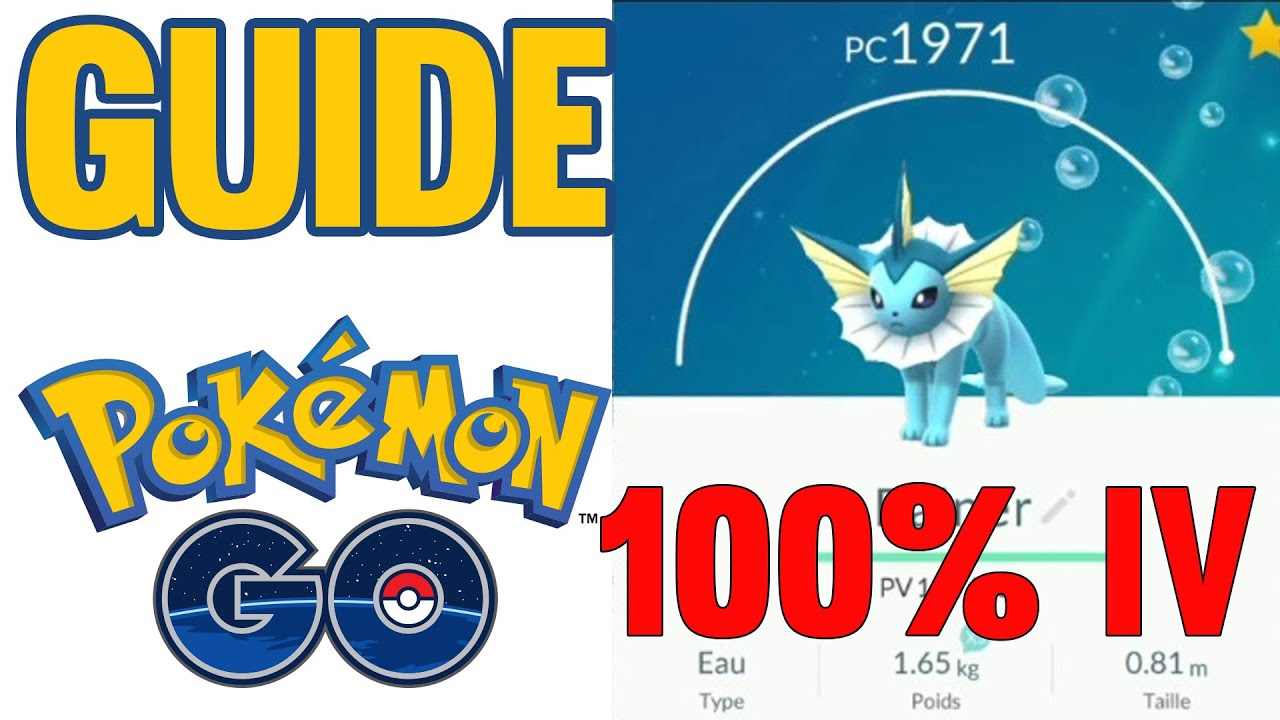 GUIDE 100% PARFAIT IV & Moves - Pokemon GO FR HD - YouTube