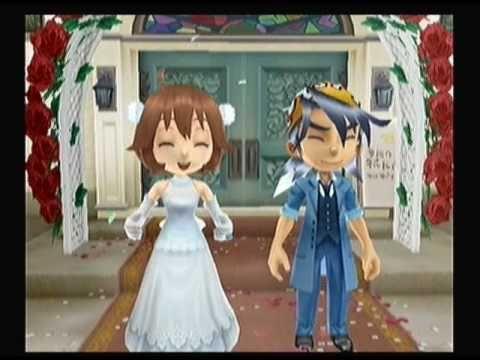 "Harvest Moon: Animal Parade ""Luke - Marriage"" - YouTube"