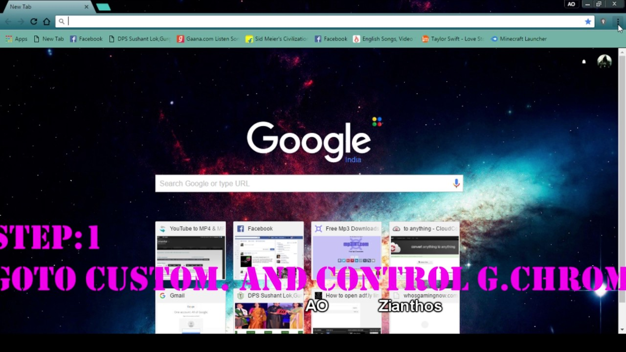 Google themes download