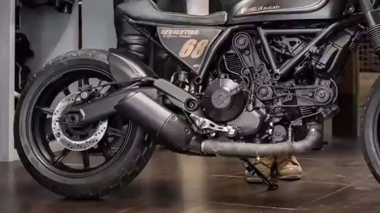 ducati revealed a bobber style scrambler sixty2 - youtube