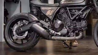 Ducatirevealed a bobber styleScrambler Sixty2