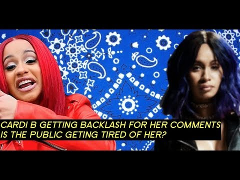 """Cardi B About To Get """"Taxed"""" In L.A for DISRESPECT  'FLUE vs Blue', Public GETING TIRED CARDI?"""