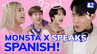 MONSTA X, the legendary latino K-pop group I Telephone Game