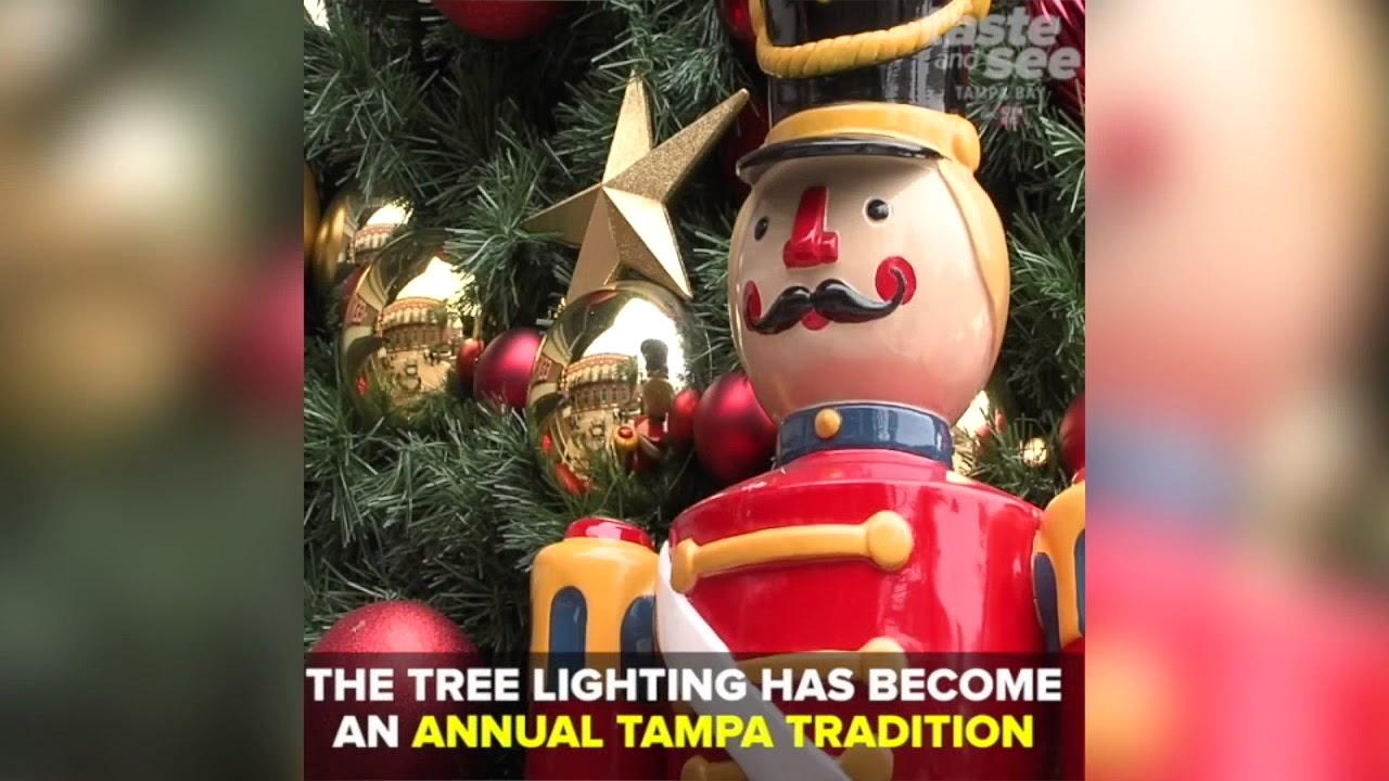 holiday tree lighting in ybor city kicks off tampas christmas season taste and see tampa bay - When Did Christmas Become A Holiday