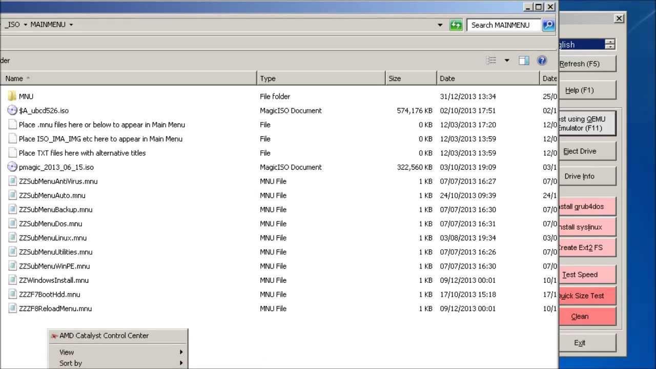 Using Easy2Boot USB Multiboot - Part 1 of 2 (ISOs, menus, contiguous, etc )
