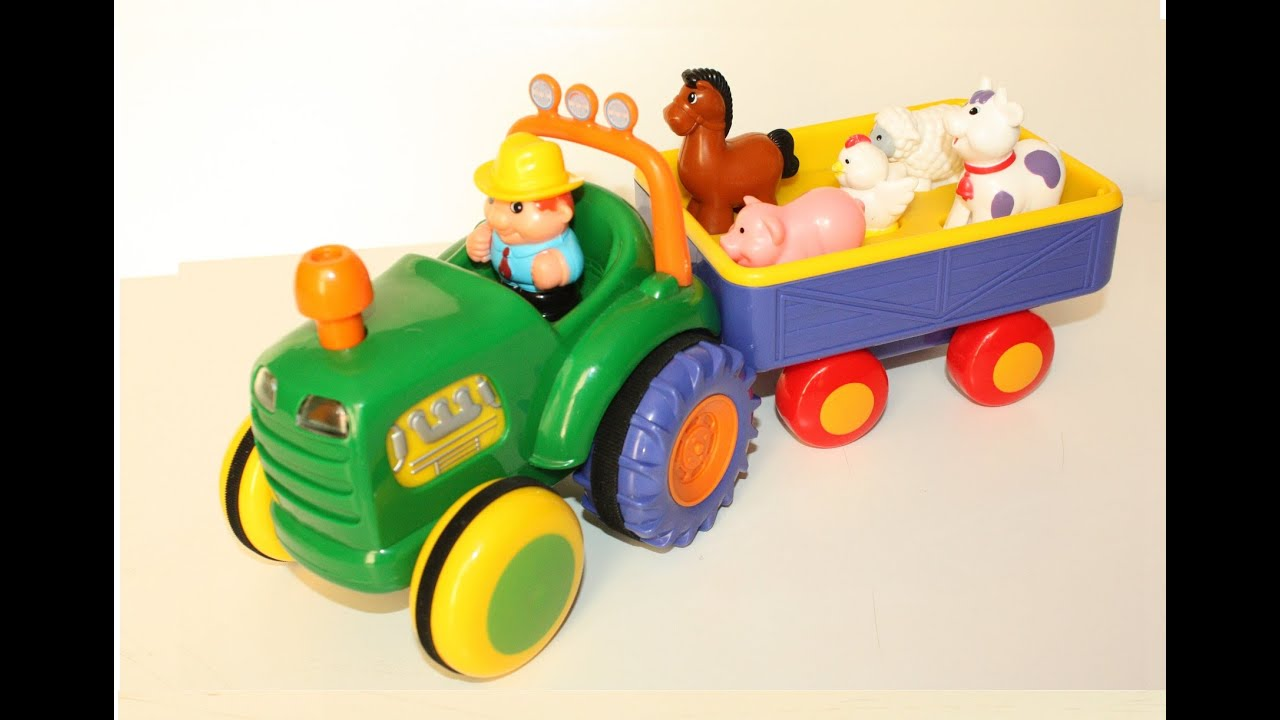 Toy Farm Tractor With Animals Wow Blog