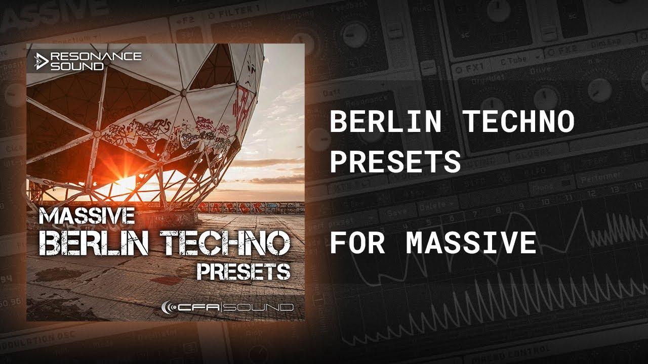 CFA-Sound – Massive Berlin Techno Presets