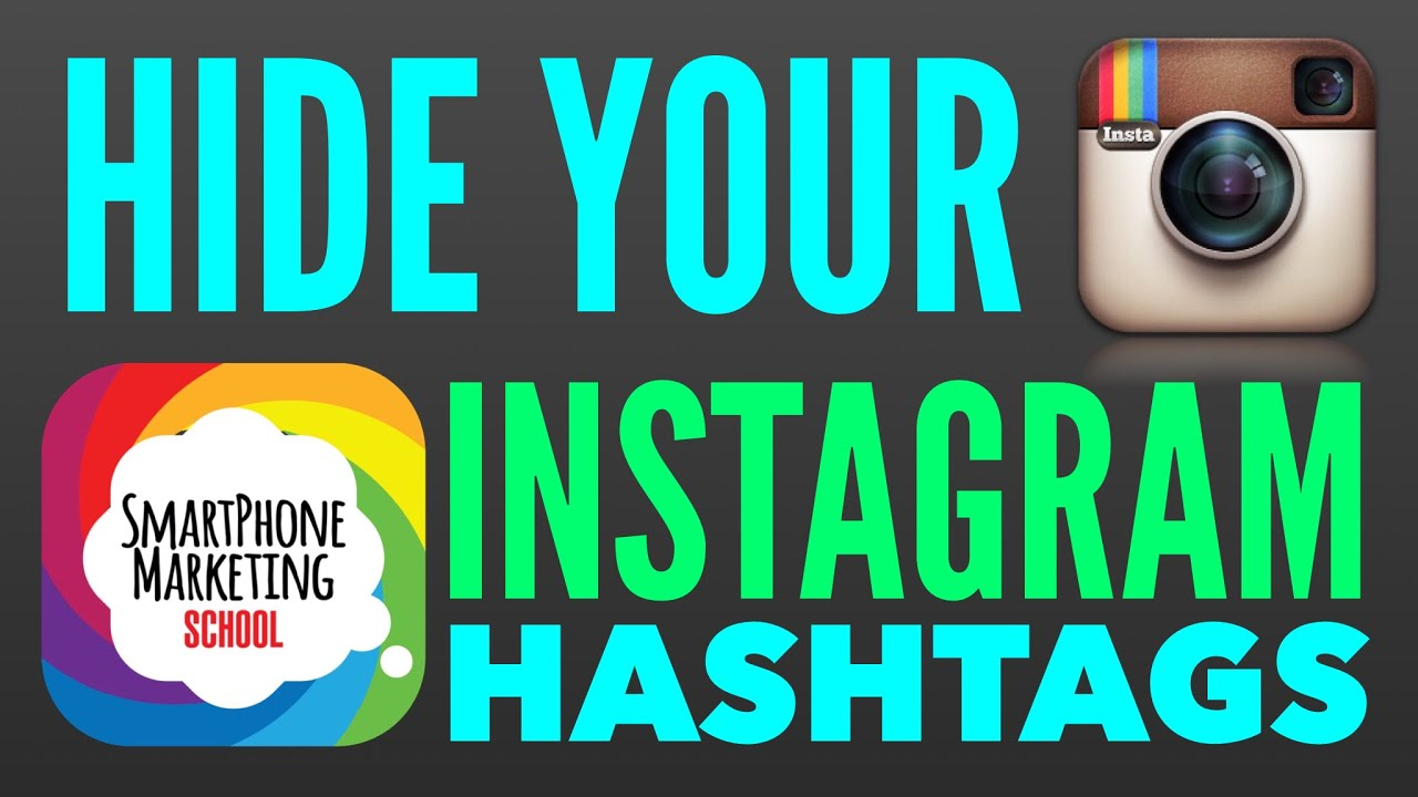 Hide Your Instagram Hashtags