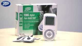 How to use the TENS Digital Pain Relief Unit