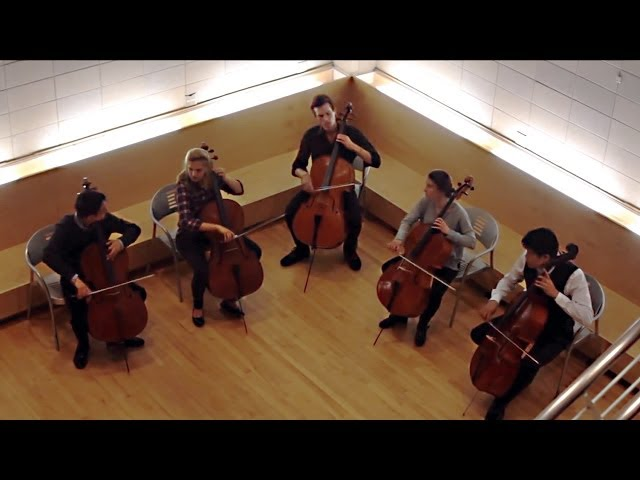 String Theory Performs Cello Cover Of 'Applause' By Lady Gaga (VIDEO