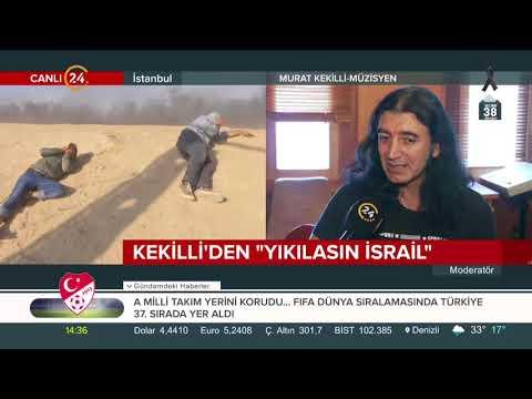 Murat Kekilli İsrail'e tepki için beste yaptı