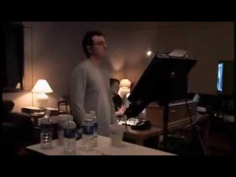Seth MacFarlane Voice Recording for Hellboy II - The Golden Army