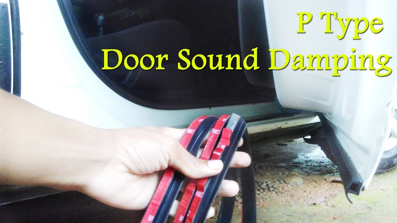 Renault KwidDuster Door Sound D&ing with P Type Rubber Seal -DIY- Reduce Cabin Noise 1 & Renault KwidDuster Door Sound Damping with P Type Rubber Seal ... Pezcame.Com