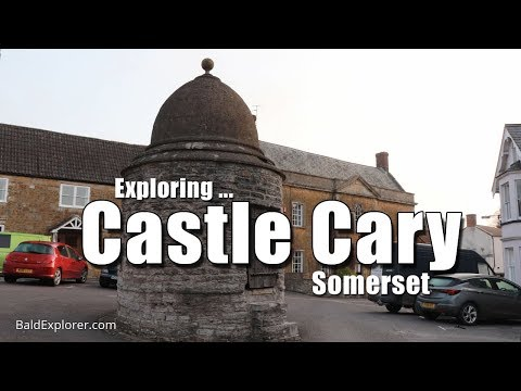 Exploring Castle Cary in Somerset