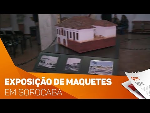 Exposição retrata a cidade de Sorocaba - TV SOROCABA/SBT