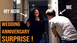 Surprising My Parents On 28th Wedding Anniversary ❤️