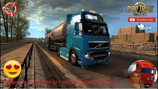 Euro Truck Simulator 2 (1.36)   Volvo FH16 2009 Road to Hungary SVK MAP by KimiSlimi Version v22 Feldbinder KIP silo Ownable Trailer + DLC's & Mods  Support me please thanks Support me economically at the mail vanelli.isabella@gmail.com  Roadhunter Traile
