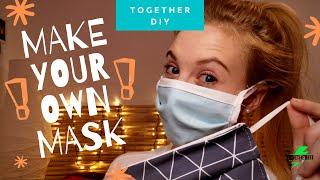 DIY Atemschutzmaske einfach&schnell selber nähen/Mundschutz/Face Mask Tutorial/ohne Schrägband