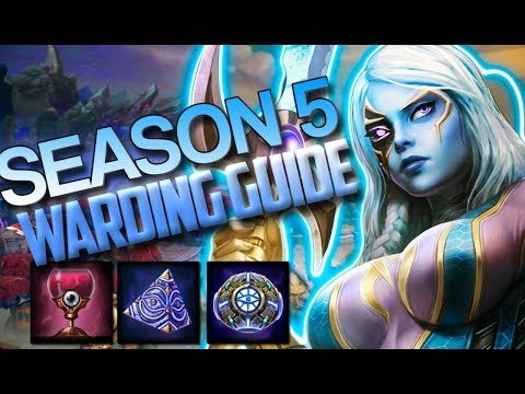 HOW TO WARD IN SEASON 5 AND WIN GAMES! - Smite