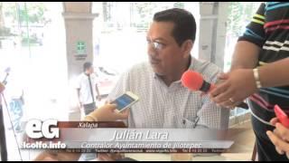 Lluvia ocasiona deslaves en Jilotepec: Julian Lara