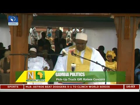 Pick Up Truck Gift Raises Concern In Gambia Pt 1 | Network Africa |
