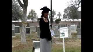 Download Video 2013 HSLB Cemetery Tour:  Ethel & Charles Haynes in