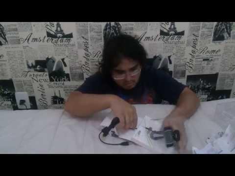 Unboxing Webcam Trust HD Trino