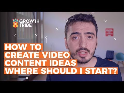 How to Create Video Content Ideas | Where should I start?