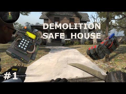 HOW TO ACE! [CS:GO DEMOLITION MODE] SAFE_HOUSE #1
