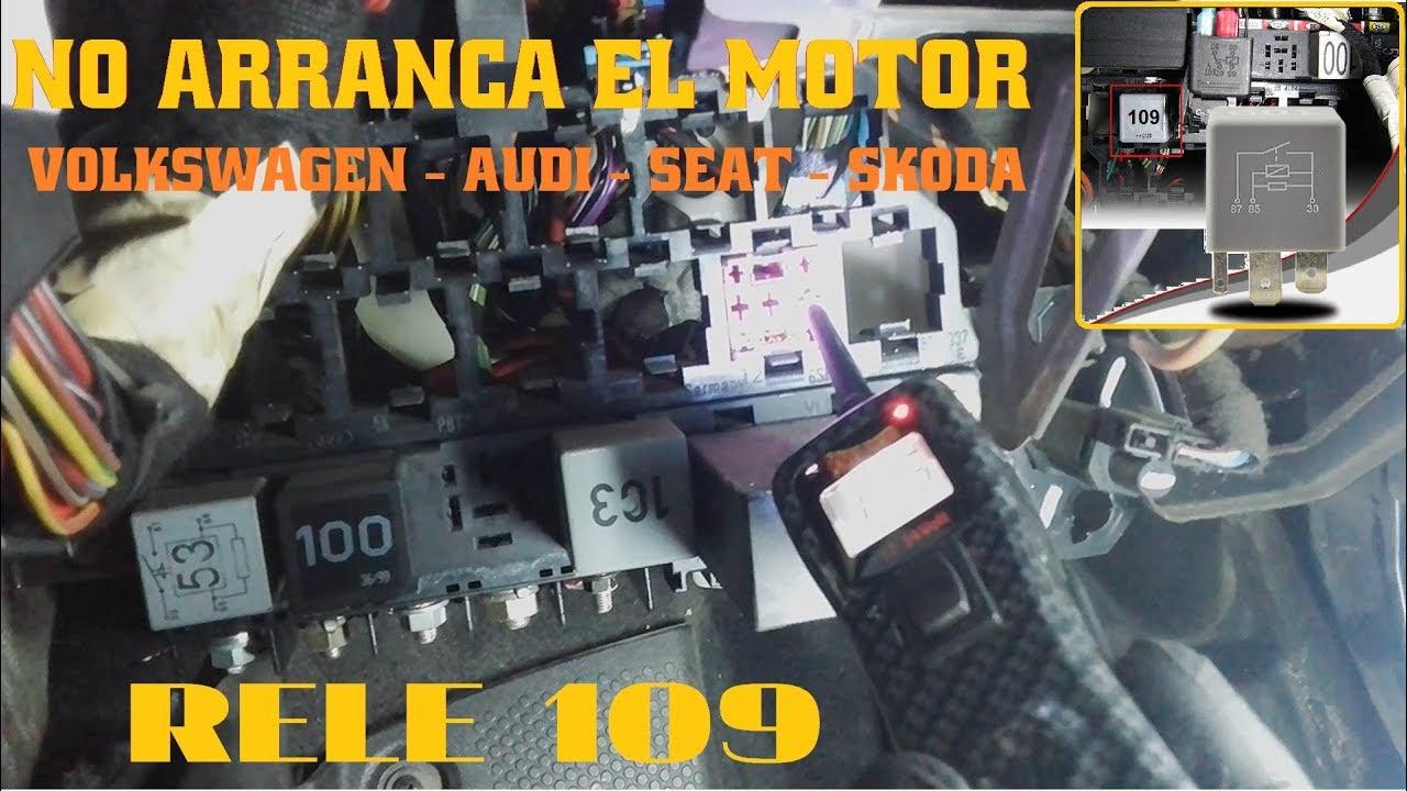 RELE 109 VOLKSWAGEN, AUDI, SEAT, SKODA | TALLERES CEPANSA - YouTube